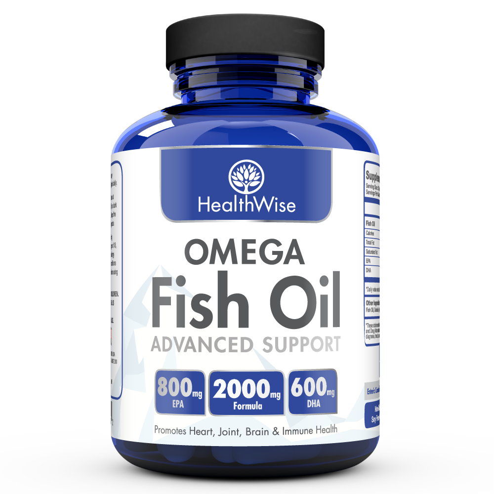 Omega fish oil healthwise for Top fish oil brands