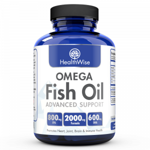 Omega fish oil healthwise for Healthwise omega fish oil advanced support